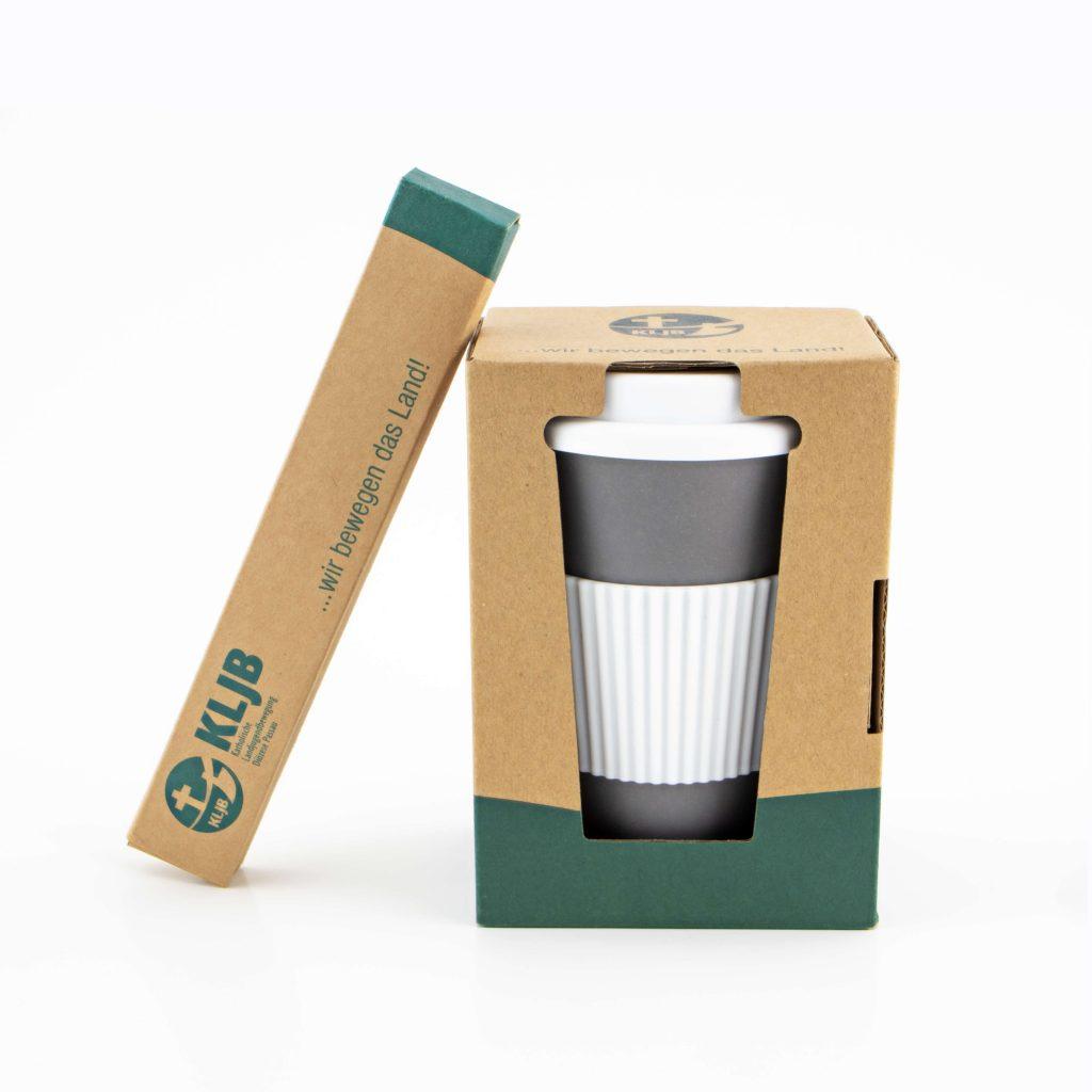Bambus Kaffeebecher bedrucken